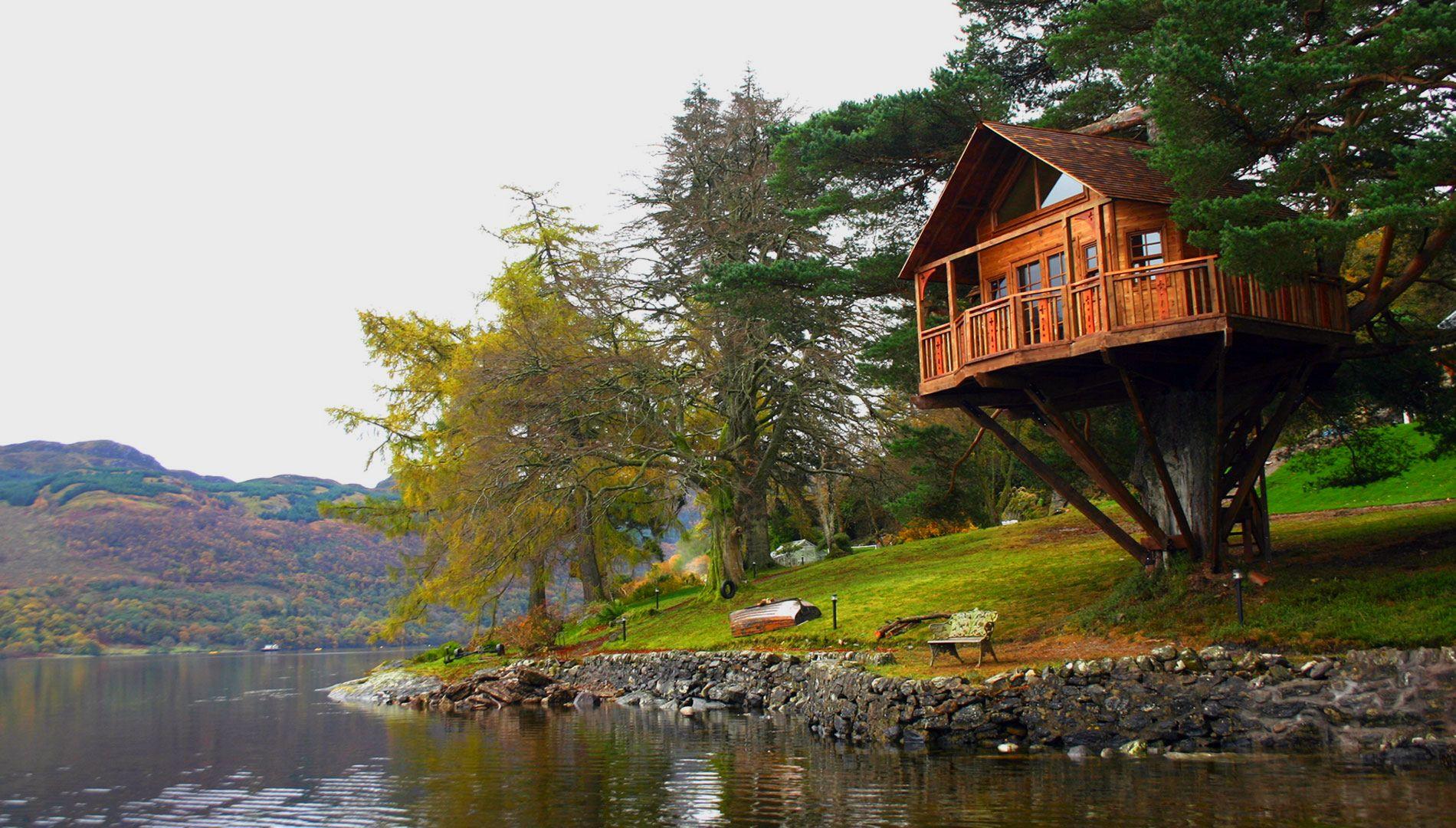 Dünyanın En İyi 15 Ağaç Evi
