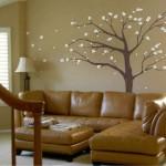 duvar kağıdı ile ucuz ev dekorasyonu