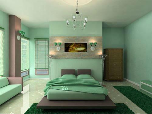 harika yatak odası dekorasyonu