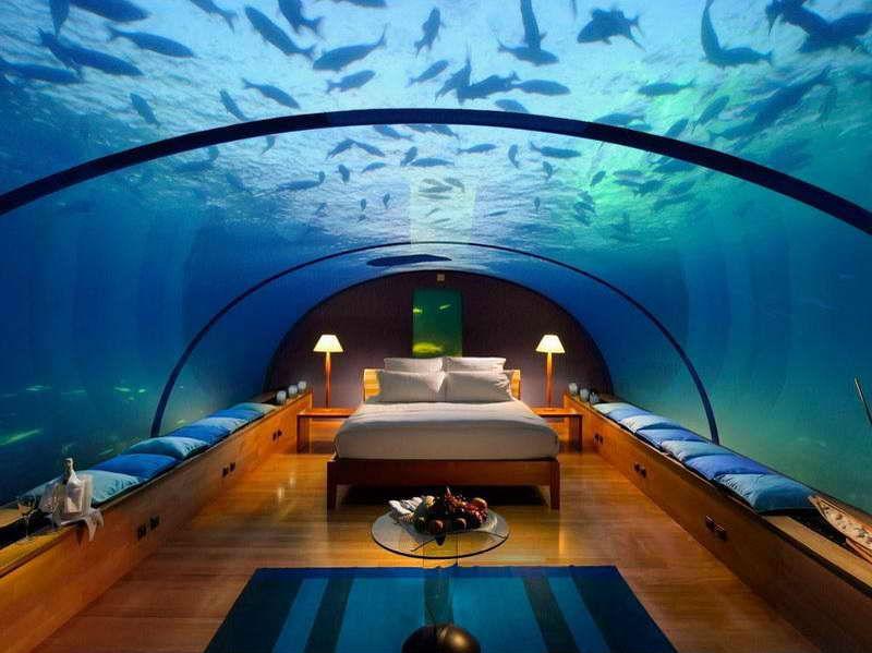 huzur verici harika yatak odası dekorasyonu