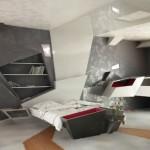 ilginç tasarım yatak odası