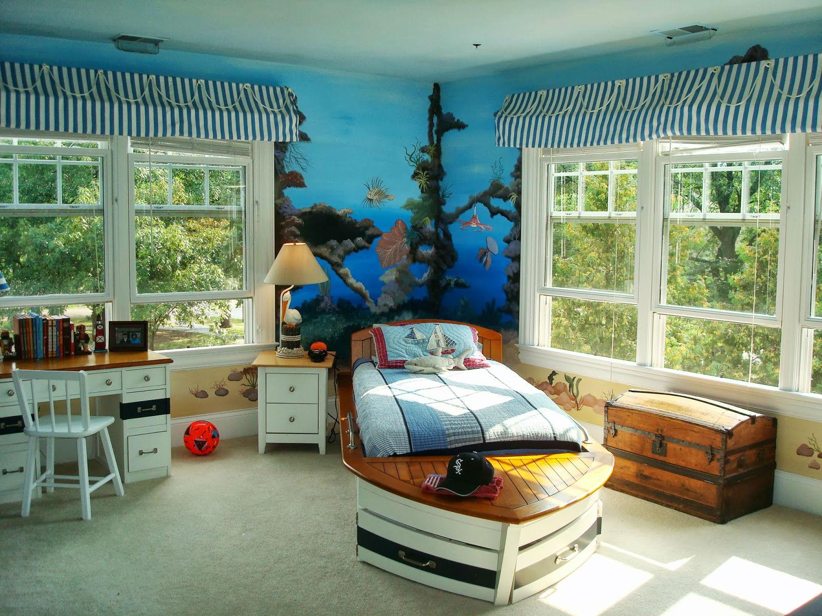ilginç yatak odası duvar kağıtları