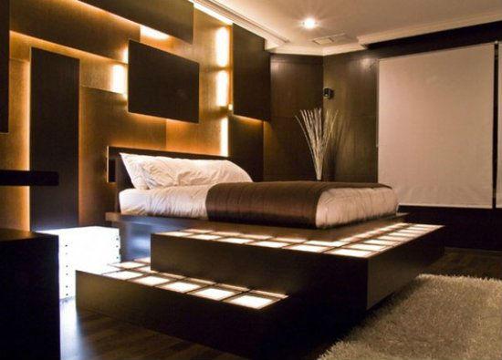 ilginç yatak odası mobilyaları