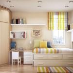 küçük odalarda dekorasyon fikirleri
