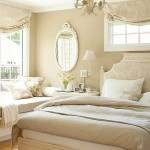 krem rengi yatak odası dekorasyonu