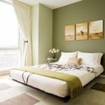 krem rengi yatak odası tasarımı