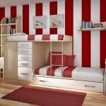 renkli çocuk odasi dekorasyonu
