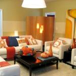renkli oturma odaları