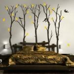 yatak odası için modern duvar resimleri