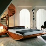 yatak odası ilginç tasarım