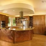 Amerikan tarzı mutfak dekorasyonu ve mobilyaları