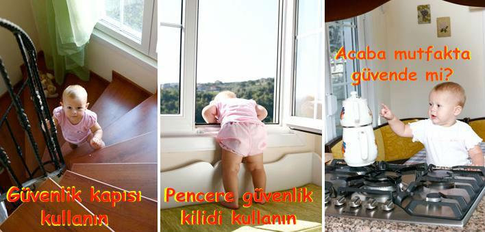 Evleri çocuklar için güvenli hale getirme