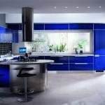 Mavi amerikan mutfak