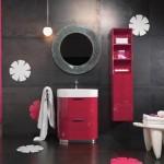 Renkli banyo dolapları modeli