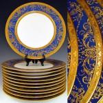 antika servis tabağı