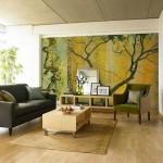 dekoratif duvar kağıdı ile retro