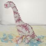 evinizde arta kalan renkli kumaşlardan oyuncak yapımı
