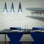 lacivert renkli mutfak dekorasyonu 6