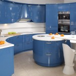 lacivert renkli mutfak dekorasyonu 7