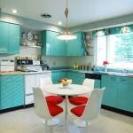 mükemmel mavi mutfak dekorasyonu