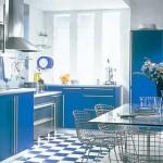 mavi mutfak tasarımları