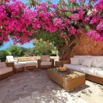 modern bahçe dekorasyonları
