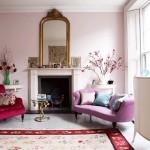 modern romantik salon