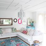 renkli ev dekorasyonları