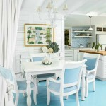 turkuaz mutfak dekoru