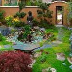 villa bahçe dekorasyonu
