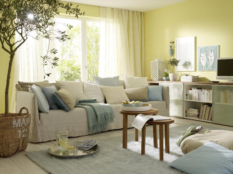 Yazlık Evlerde Oturma Odası Dekorasyonu