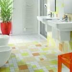 bitki dekor tasarımı banyo