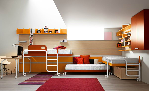 İkiz Yatak Odası Dekorasyonu