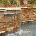 Havuz kenarı taş kaplama