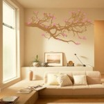 ağaç gölgesi duvar resmi