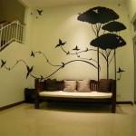 dekorasyon amaçlı duvar resimleri
