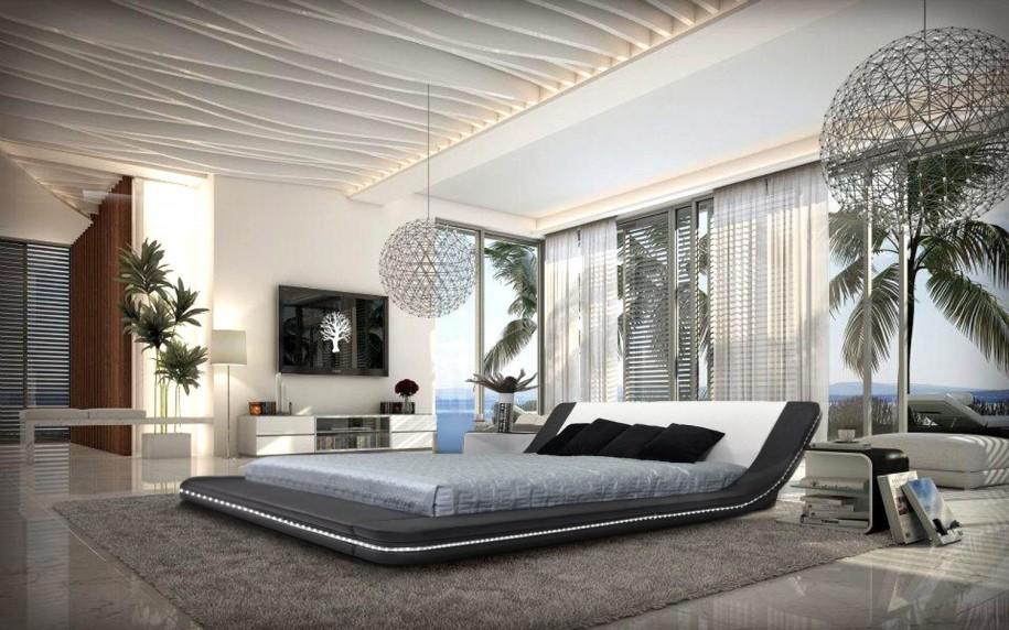 Büyük Yatak Odası Dekorasyon Örnekleri