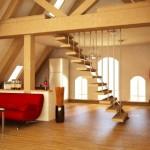 çatı katı dekorasyonu fikirleri 9