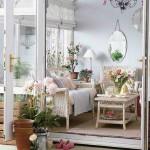 çiçek desenli romantik salonlar