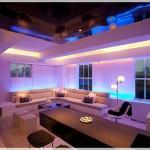 açık renk romantil salon