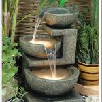 bahçeniz için dekoratif küçük şelale