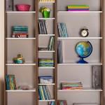 dekorasyonda kitaplık tercihleri 9
