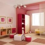genç kız odası dolap modeli