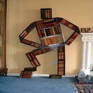 ilginç tasarım kitaplık