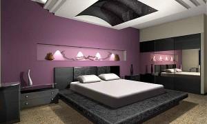 kelebek yatak odası modeli