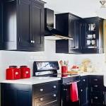 lacivert mutfak dekorasyonu