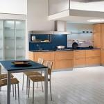 lacivert renkli mutfak dekorasyonu 5