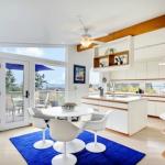 lacivert renkli mutfak dekorasyonu 9