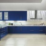mavi renkli mutfak dekorasyonu 2