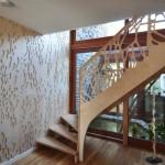 modern konak ahşap merdiven